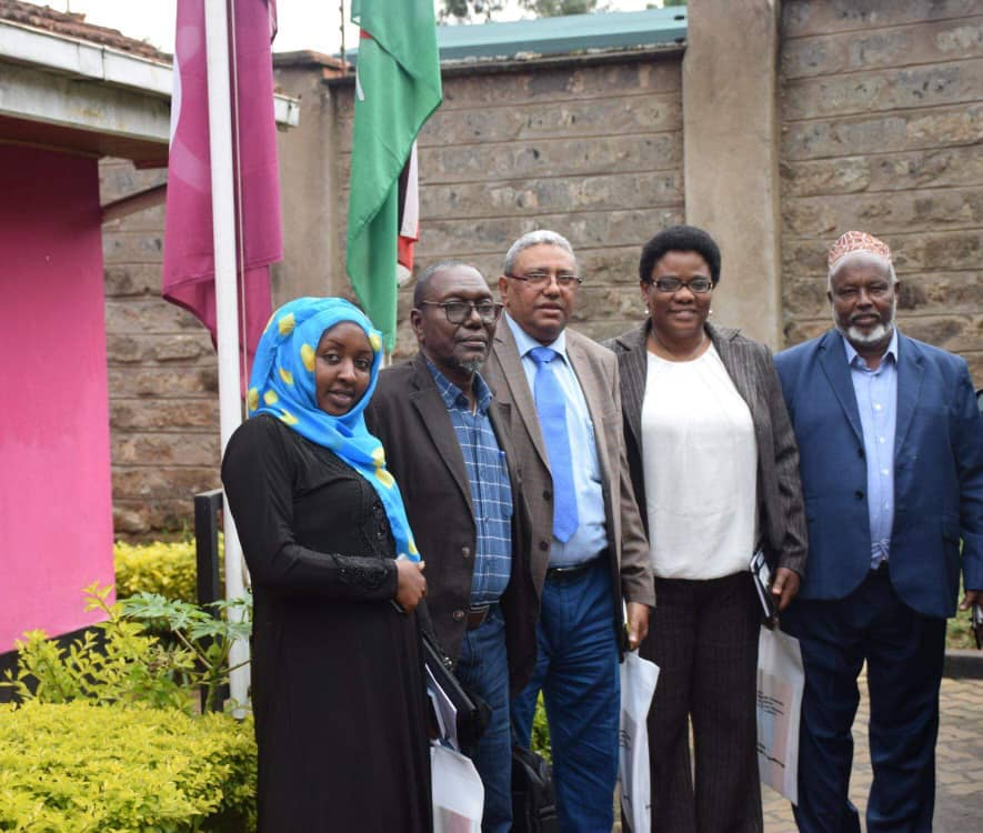 UDHIS leaders met the ICA-Africa in Kenya, Nairobi yesterday