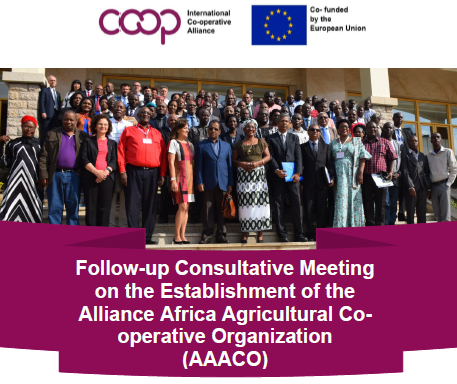 Establishment of the Alliance Africa Agricultural Co-operative Organization (AAACO) Report is now published and can be accessed through 👎