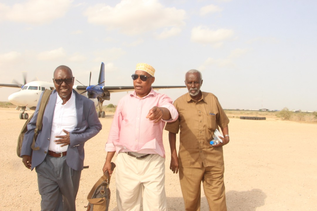 The Chair person of (NUAC) and his delegation visited some regions in Somalia……….